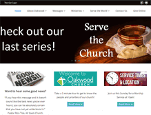 Tablet Preview of oakwoodfl.org